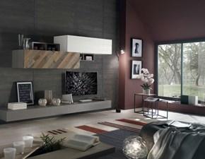 Mobile componibile in stile design Artigianale in legno Offerta Outlet