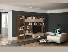Mobile componibile in stile design Pianca in legno Offerta Outlet