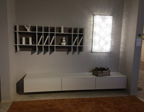 Mobile componibile in stile moderno Doimo design in laccato opaco Offerta Outlet