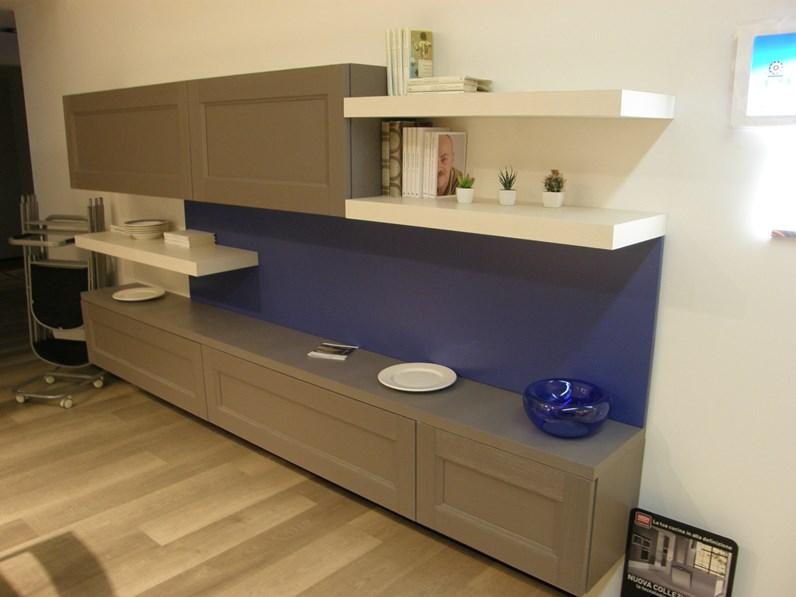 Mobile componibile in stile moderno lube cucine in legno for Cucine in offerta a torino