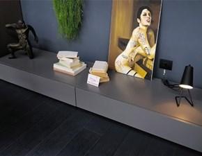 Mobile componibile in stile moderno Pianca in legno Offerta Outlet