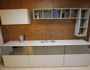 Mobile componibile in stile moderno Sangiacomo in laccato opaco Offerta Outlet