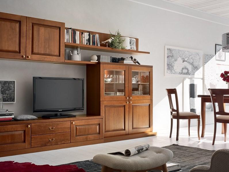 Mobile componibile maronese asolana prezzi outlet for Marca mobili