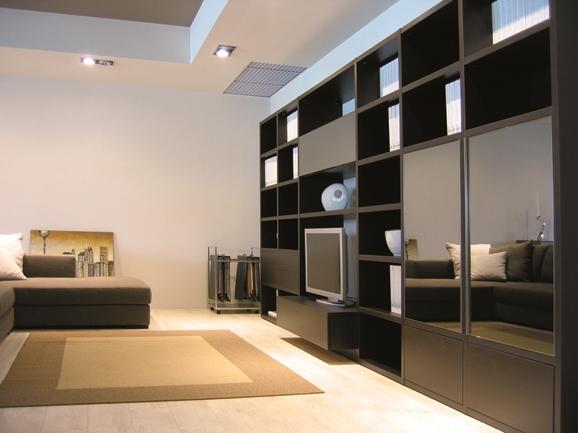 Mobile da soggiorno moderno map parete attrezzata sconto for Mobile da soggiorno moderno