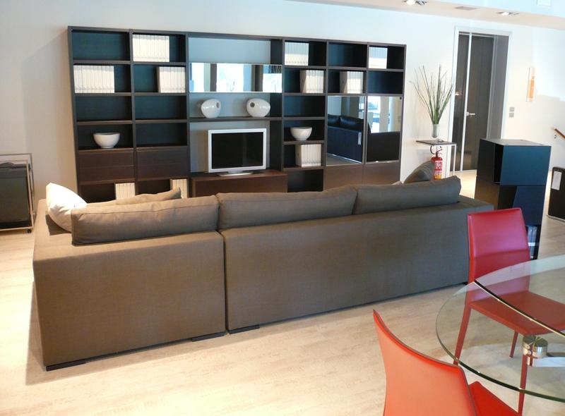 Mobile da soggiorno moderno Map parete attrezzata sconto -77% - Soggiorni a prezzi scontati
