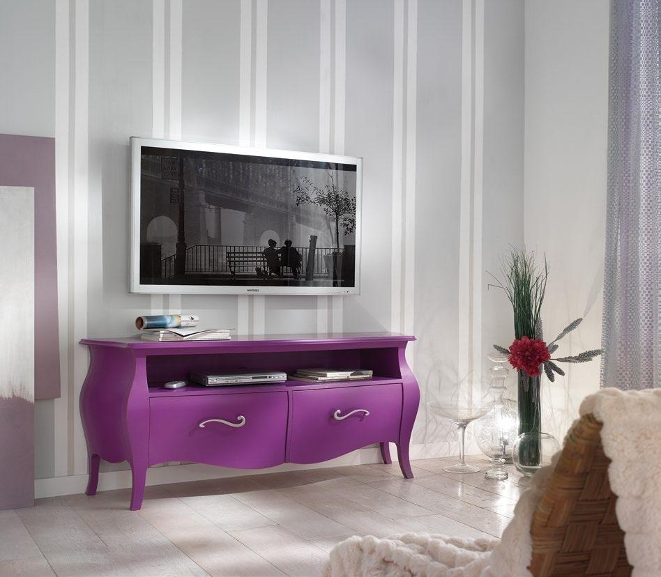 mobile da soggiorno porta televisione in stile classico ...