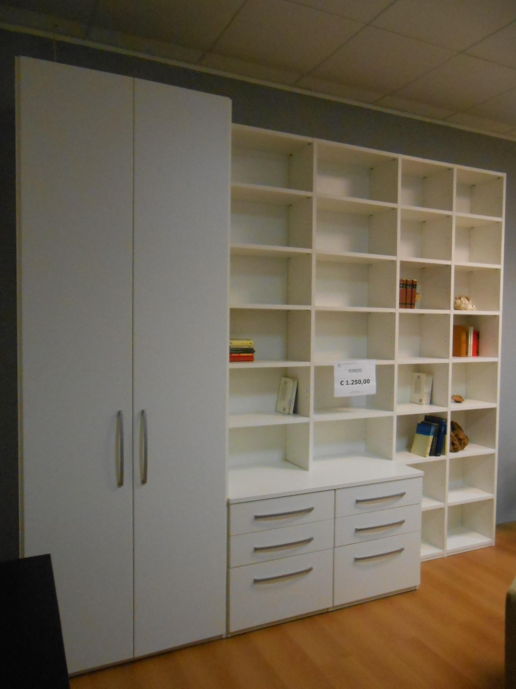 Soggiorno Foresti Living Librerie - Soggiorni a prezzi scontati
