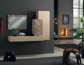 Mobile ingresso Comp 12 Artigianale in legno a prezzo scontato