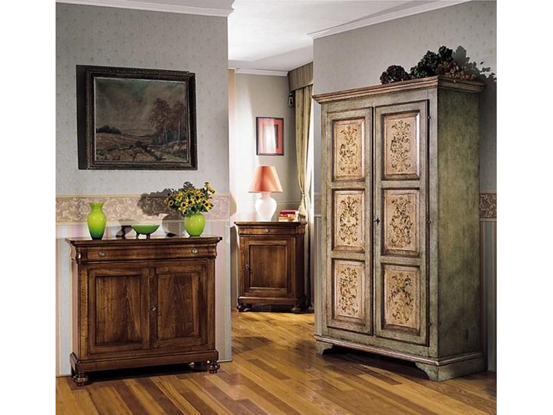 Mobile ingresso Credenzina stile 800 in legno di noce scontata del 30%  Artigianale in stile classico a prezzo scontato