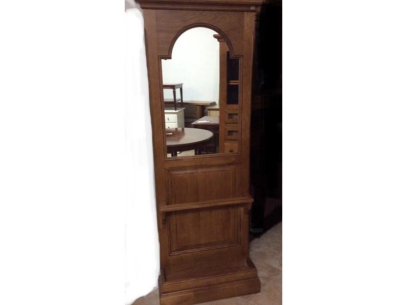Mobile ingresso in stile classico Artigianale in legno Offerta Outlet