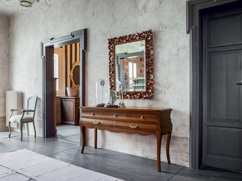 Mobile ingresso in stile classico tonin casa in legno offerta outlet - Casa stile classico ...