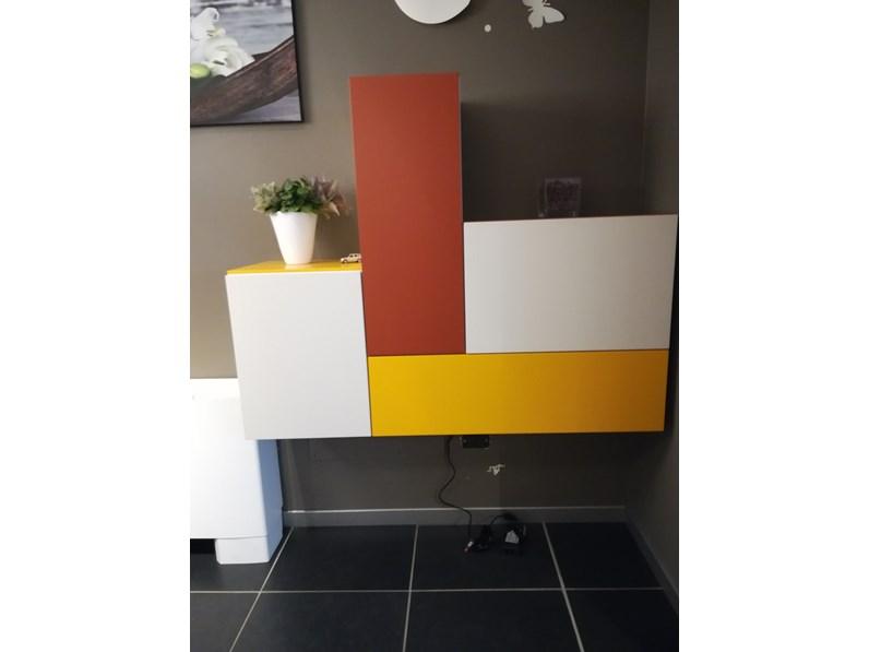 Mobile ingresso in stile design Artigianale in laminato opaco ...