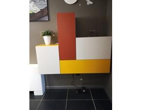 Mobile ingresso in stile design Artigianale in laminato opaco Offerta Outlet