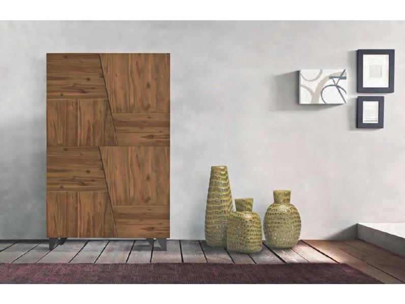 Mobile ingresso in stile moderno Fgf in legno Offerta Outlet