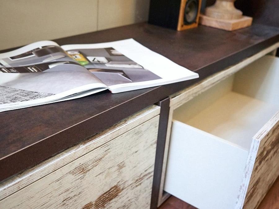 mobile parete soggiorno vintage offerta outlet nuovimondi ...