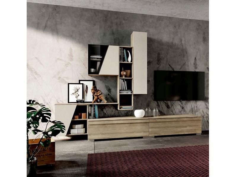 Mobile per soggiorno, disponibile in diverse finiture, nuovo, scontato