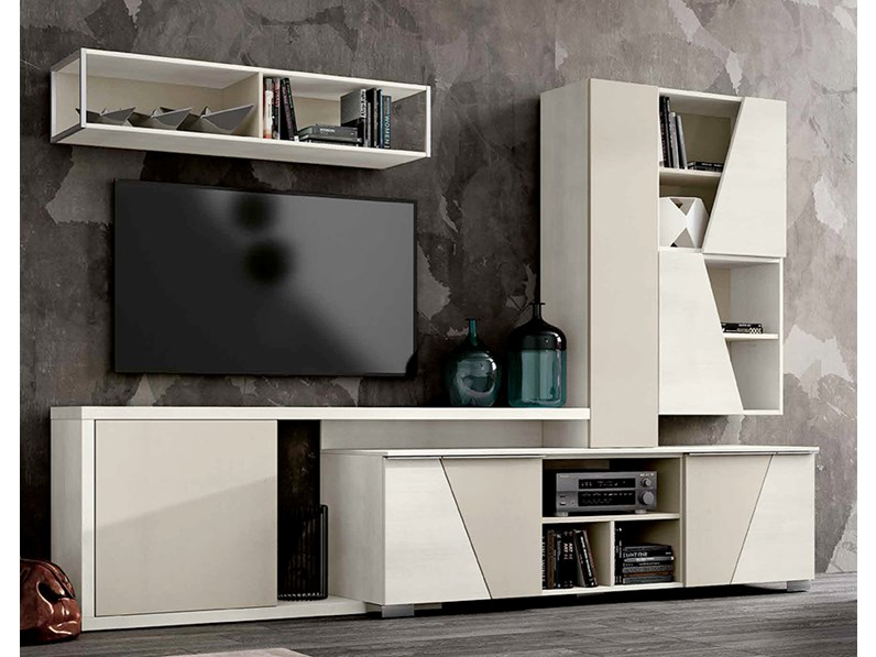 Mobile per soggiorno in finitura legno, nuovo a prezzo scontato