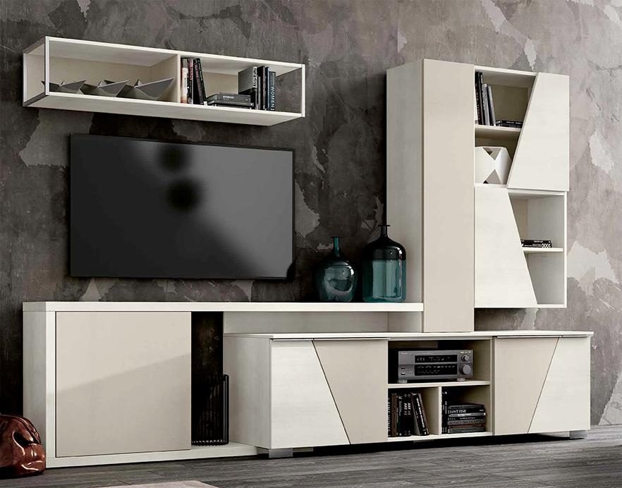 Mobile per soggiorno in finitura legno nuovo a prezzo for Mobile basso soggiorno