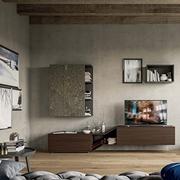 Mobile soggiorno su misura porta televisione moderno