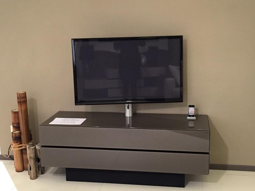 Soggiorno brick vetro porta tv design   soggiorni a prezzi scontati