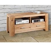 mobile porta TV moderno legno rovere