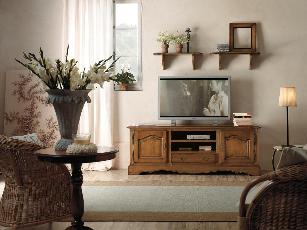 soggiorno base porta tv stile provenzale scontato del 30