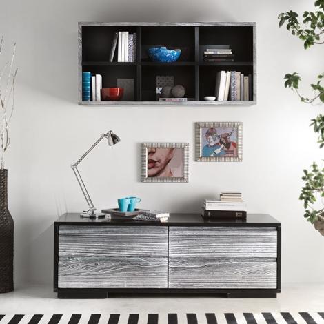 Mobile soggiorno con quattro cassettoni soggiorni a for Accessori d arredo casa