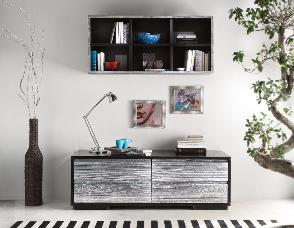 Mobile soggiorno con quattro cassettoni soggiorni a for Ebay arredamento