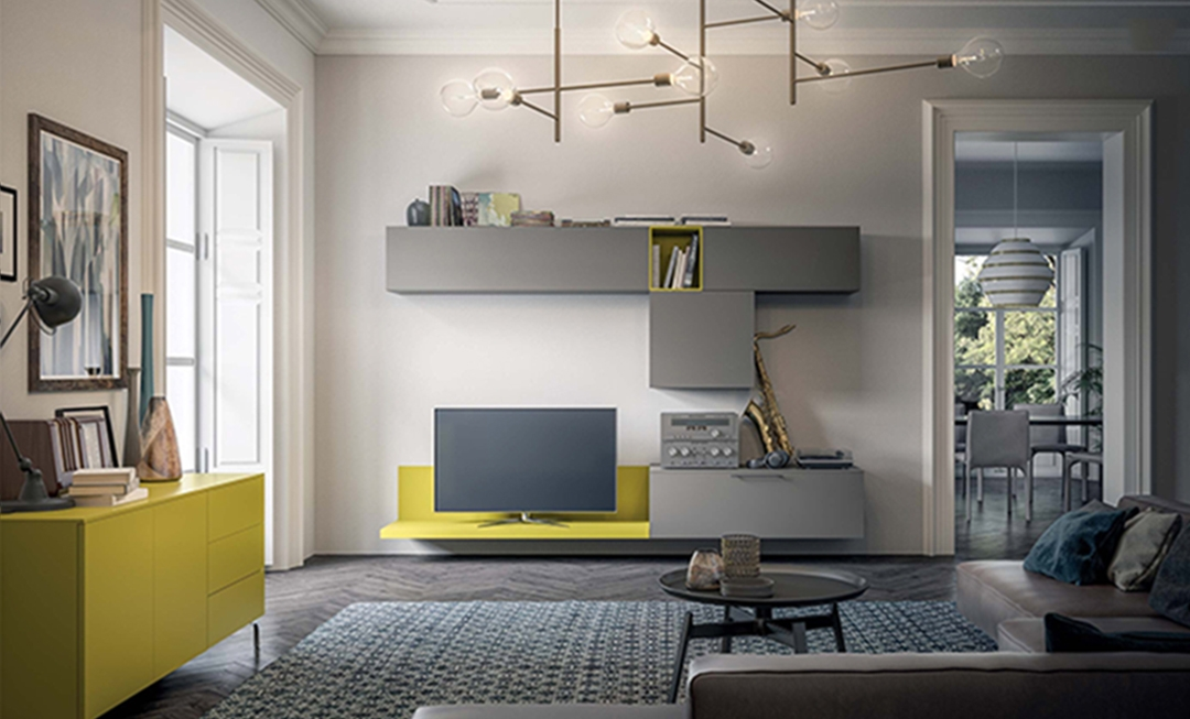 Mobile soggiorno living moderno mottes mobili soggiorni - Mobili soggiorno moderno ...