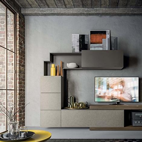 Mobile soggiorno living moderno scontato del 40% - Soggiorni a prezzi scontati