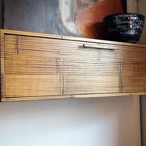 mobile soggiorno portatv moderno etnico in legnoe crash ...