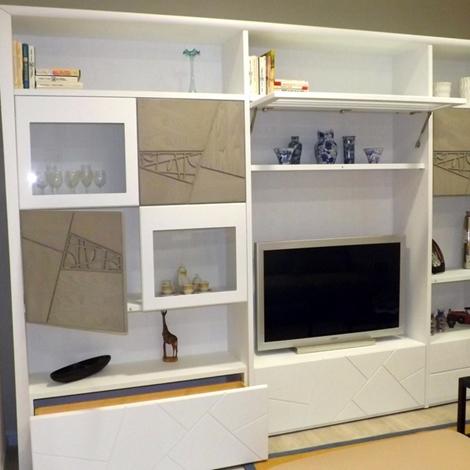 Modo10 soggiorno decor soggiorni a prezzi scontati for Parete attrezzata modo10