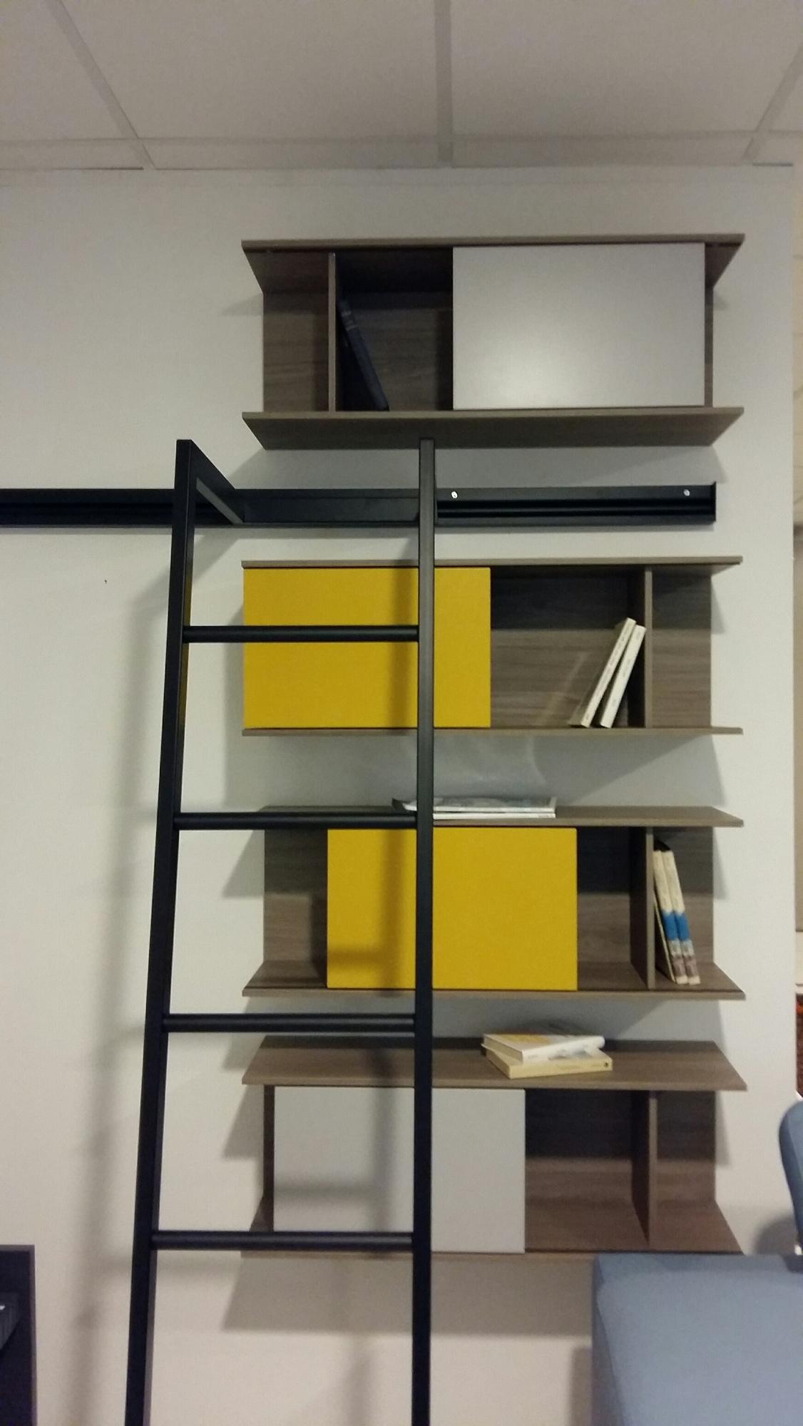 novamobili libreria about day scontato del 60 soggiorni a prezzi scontati. Black Bedroom Furniture Sets. Home Design Ideas