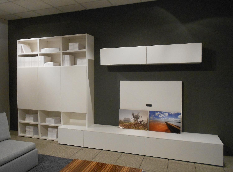 Novamobili soggiorno about day laccato opaco pareti attrezzate design scontato del 30 - Pareti attrezzate design ...