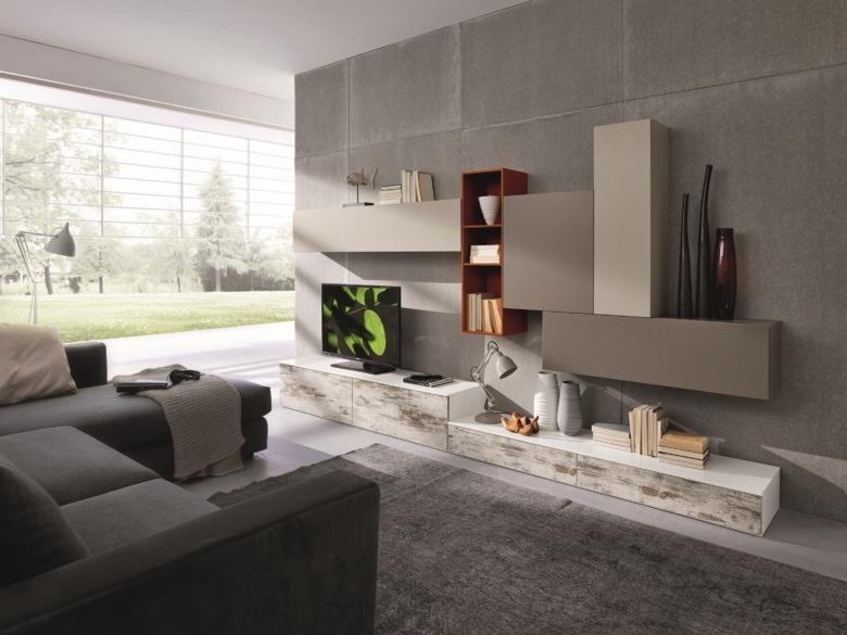 Nuovi mondi cucine soggiorno mobile parete soggiorno for Mobile parete soggiorno
