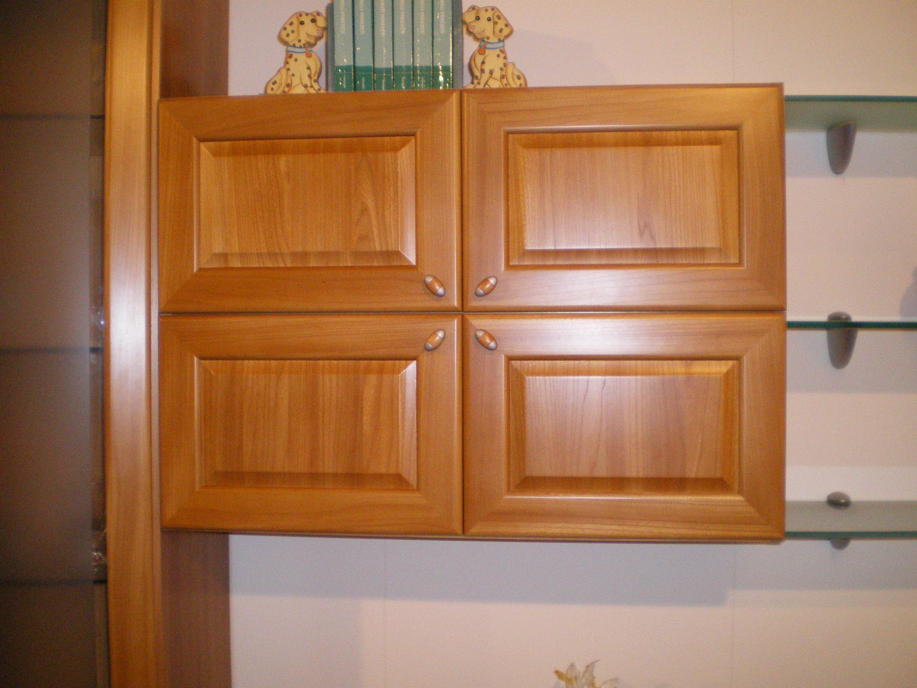 Soggiorno fim california legno componibili classico for Vetrinette shabby ebay