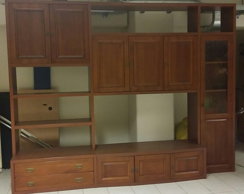 offerta soggiorno classico in legno - soggiorni a prezzi scontati - Offerta Soggiorno Le Fablier 2