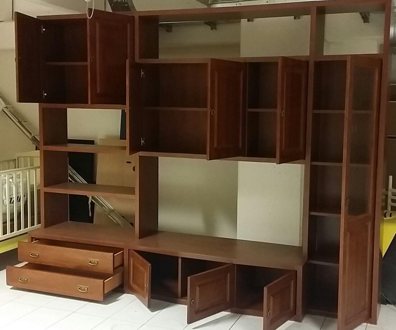Offerta soggiorno classico in legno soggiorni a prezzi - Soggiorni in legno ...