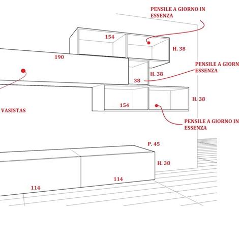 offerta speciale mobile soggiorno componibile scontato del 31 ... - Misure Soggiorno