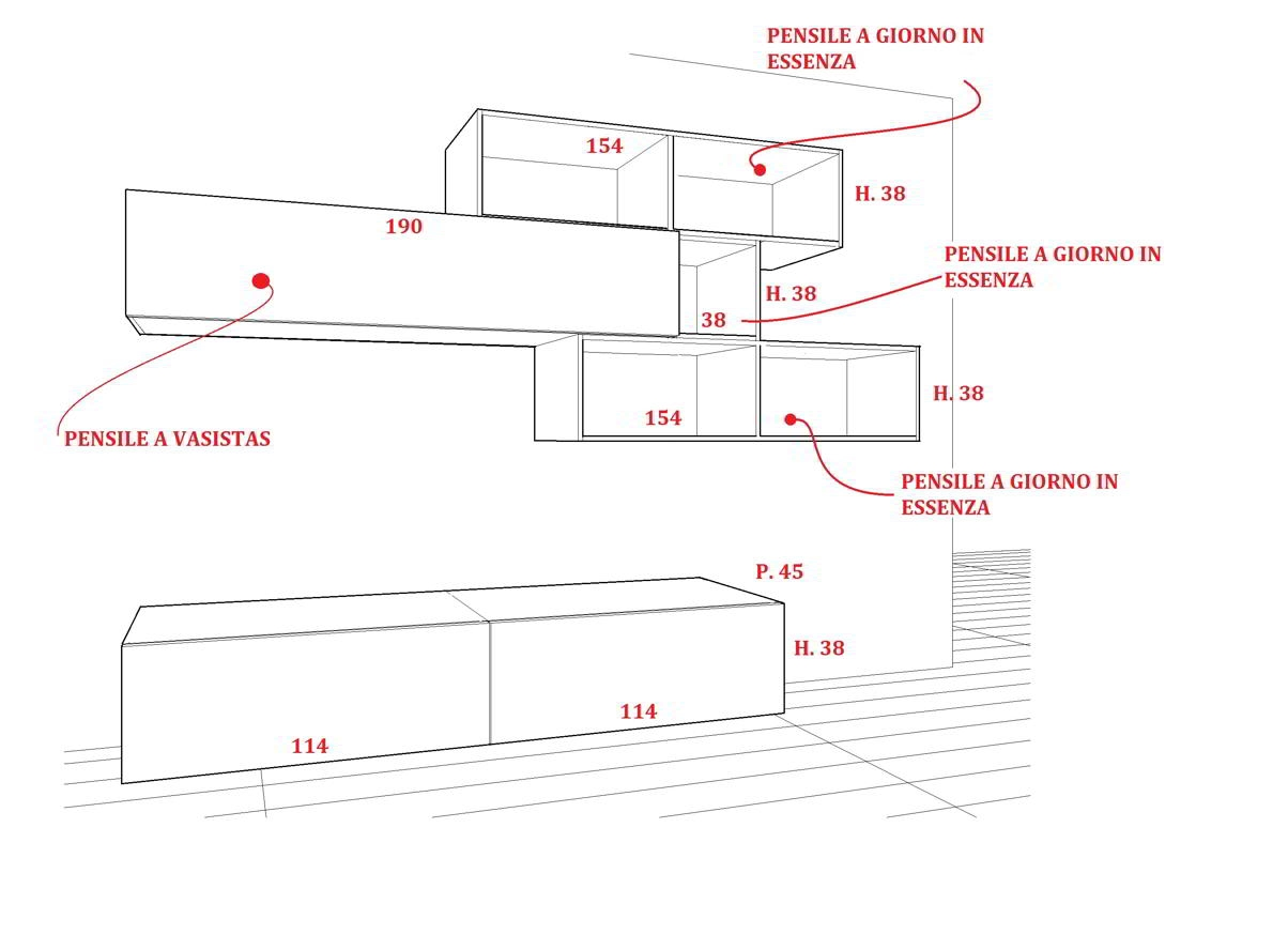 Dimensioni Soggiorno ~ Ispirazione Interior Design & Idee Mobili