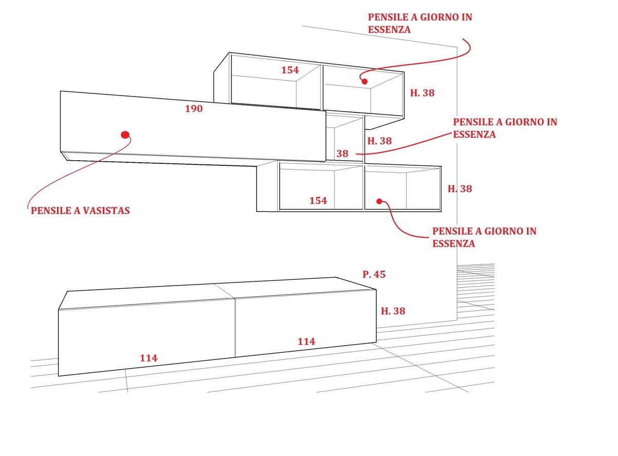Misure Standard Mobili Cucina. Simple Dimensioni Mobili Cucina With ...