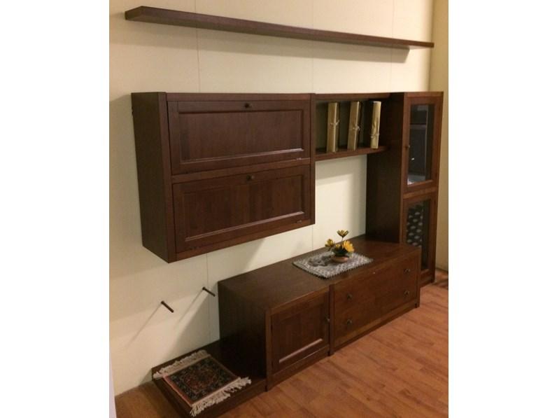 Offerta svendita soggiorno componibile fgf in legno - Soggiorno legno massello ...