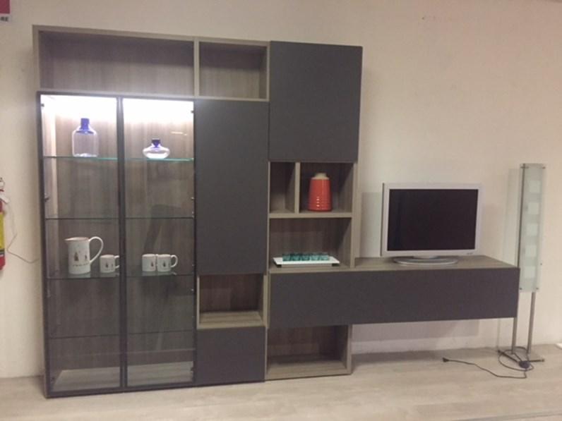 Orme soggiorno living laccato opaco pareti attrezzate for Soggiorno living