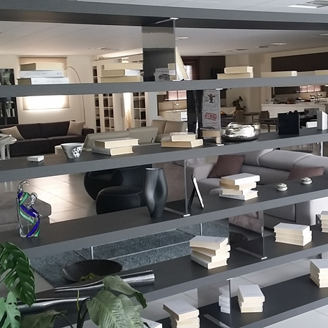 Tisettanta libreria legno librerie moderno soggiorni a for Tisettanta outlet