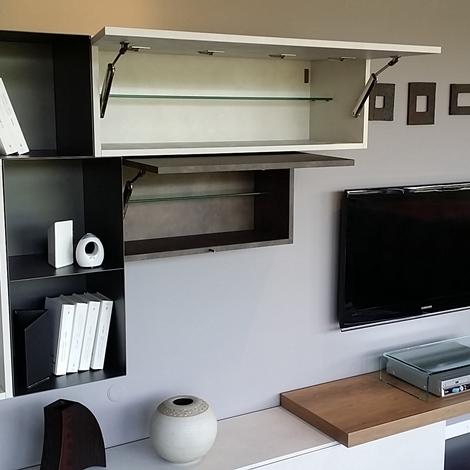 Outlet soggiorno moderno Compas - Soggiorni a prezzi scontati
