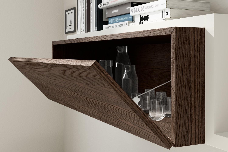 Napol soggiorno 302 scontato del 30 soggiorni a prezzi for Mobili soggiorno moderni in legno