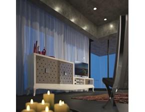 Parete attrezzata Artigianale in laccato lucido Berlín composición in Offerta Outlet