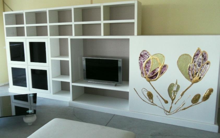 Soggiorno con tv a parete ~ neburisky.net