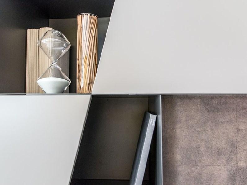 parete attrezzata e porta tv tomasella outlet