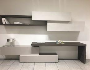 Parete attrezzata home-office in stile design Sangiacomo Offerta Outlet